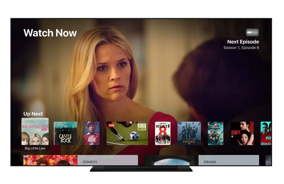 Apple tv-dienst april