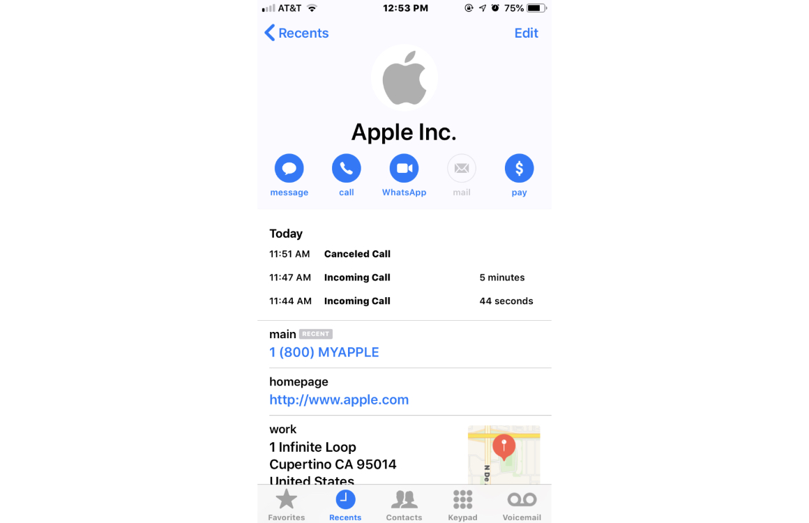 iPhone phishing