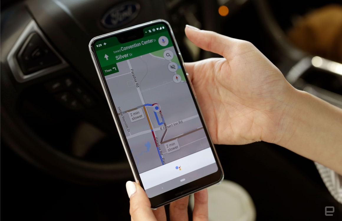 Google Maps Google Assistent