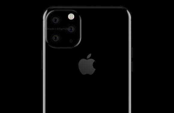 'Schematische tekening toont de nieuwe iPhone XR'