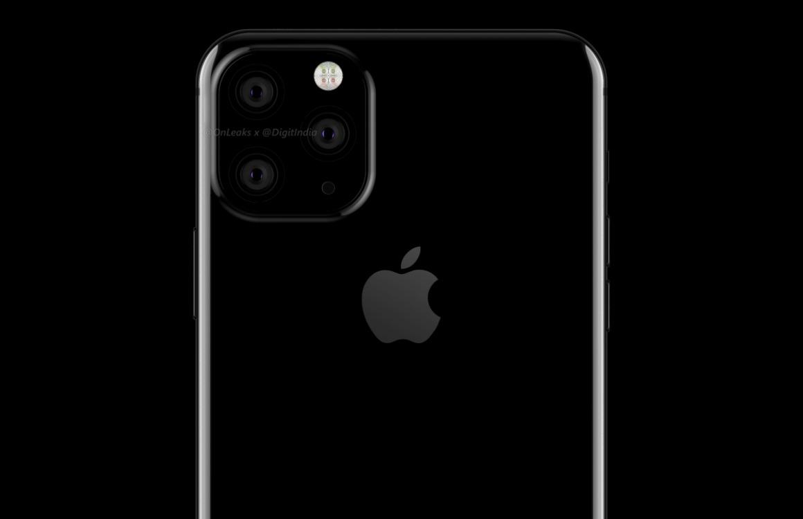 iPhone 2019 design gerucht drie camera's