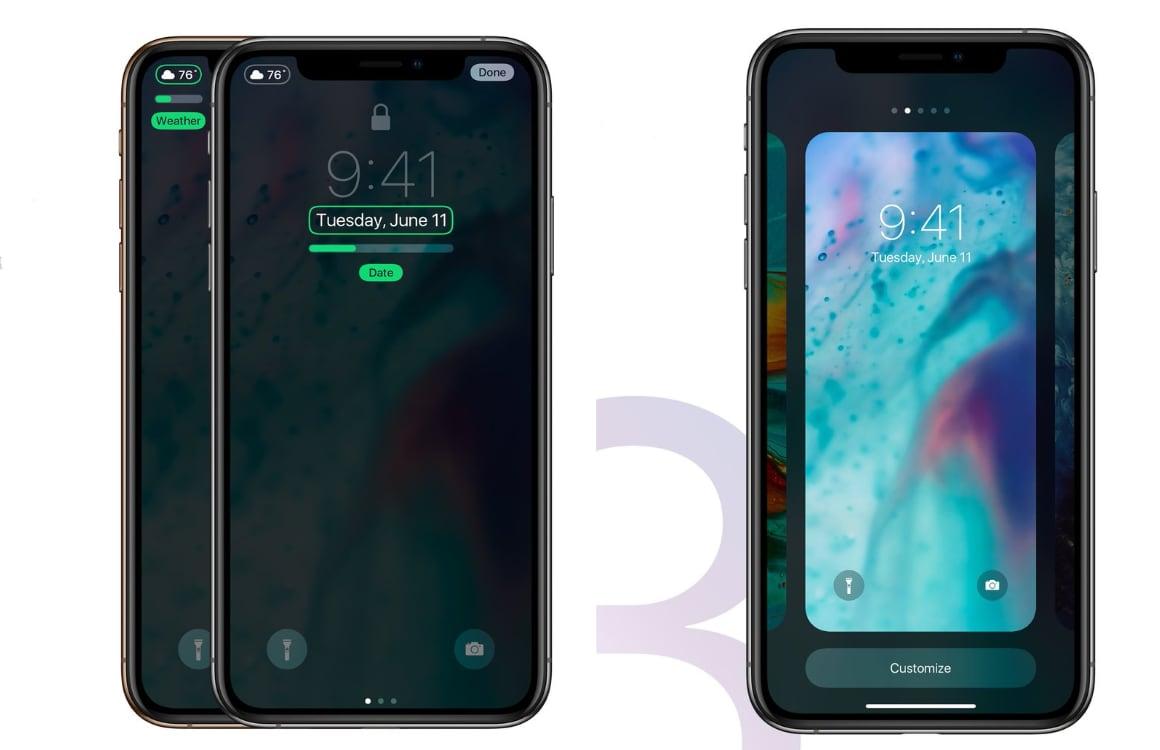 iOS 13 concept design