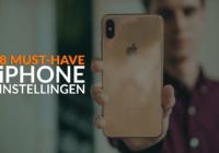 De 8 iPhone-instellingen die iedereen aan zou moeten passen