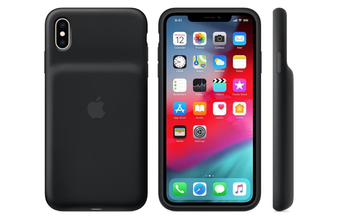 Apple lanceert Smart Battery Case voor iPhone XS, XS Max en XR