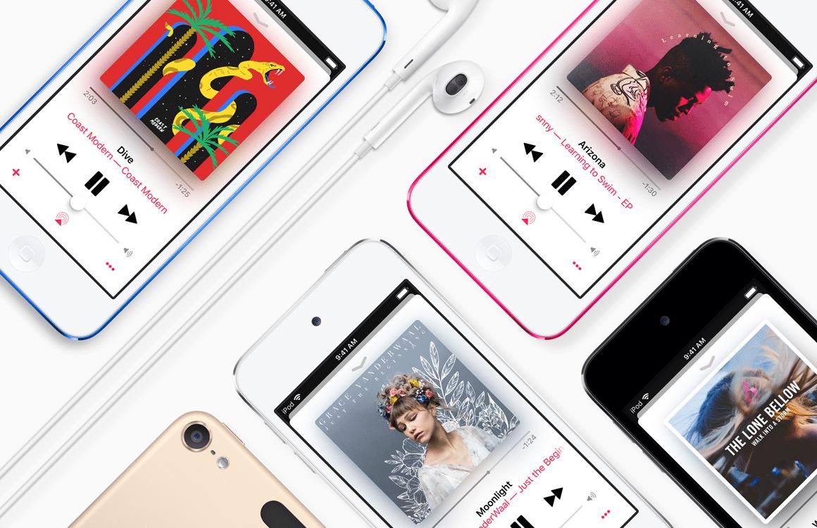 Gerucht: Apple werkt aan een nieuwe iPod touch