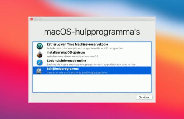 Mac resetten