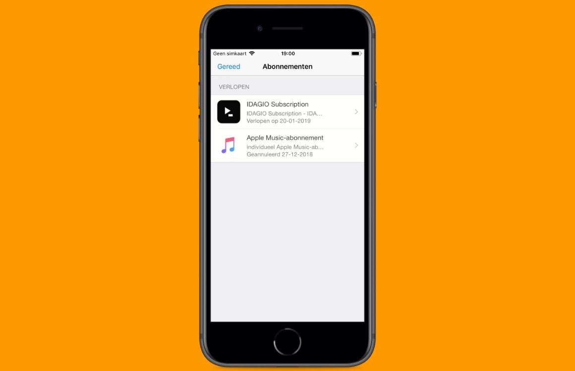 App-abonnementen vernieuwd 2