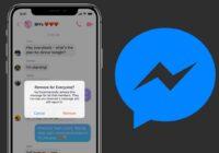 Zo verwijder je een bericht in Facebook Messenger voor iedereen