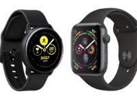 Apple Watch Series 4 vs Galaxy Watch Active: sportieve horloges vergeleken