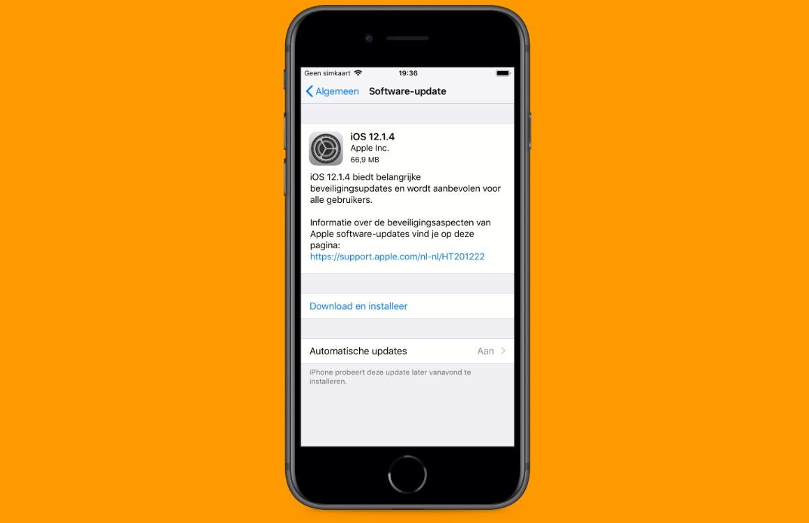 iOS 12.1.4 downloaden screenshot