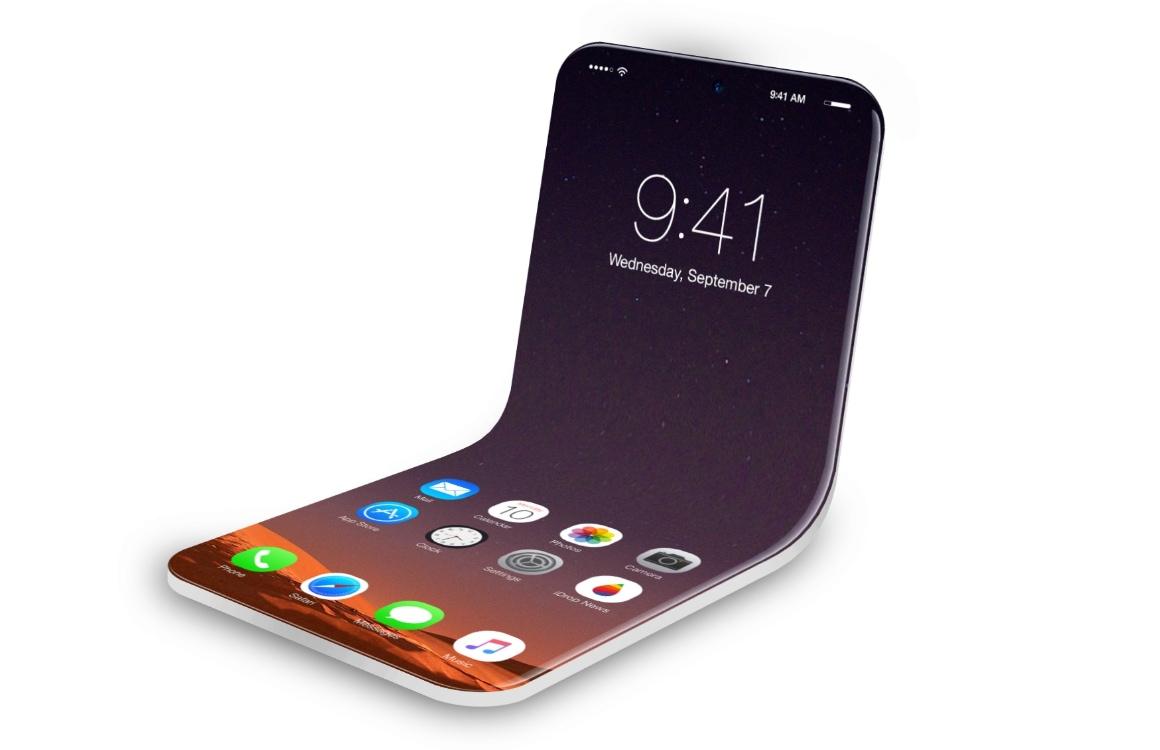 Gerucht: opvouwbare iPhone  op komst met twee losse schermen