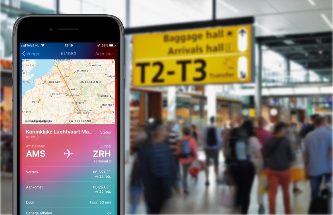 Tip: een vluchtstatus checken met je iPhone doe je zo