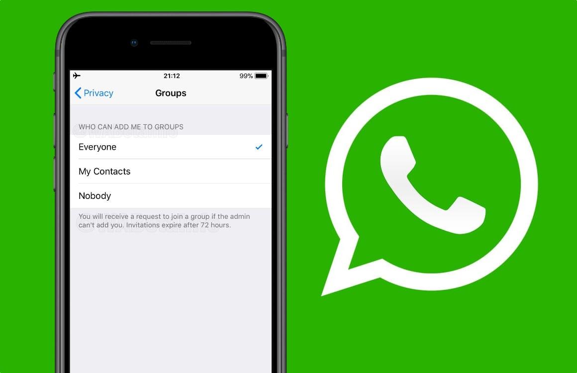 Met deze WhatsApp-functie kom je nooit meer ongewild in een groepschat