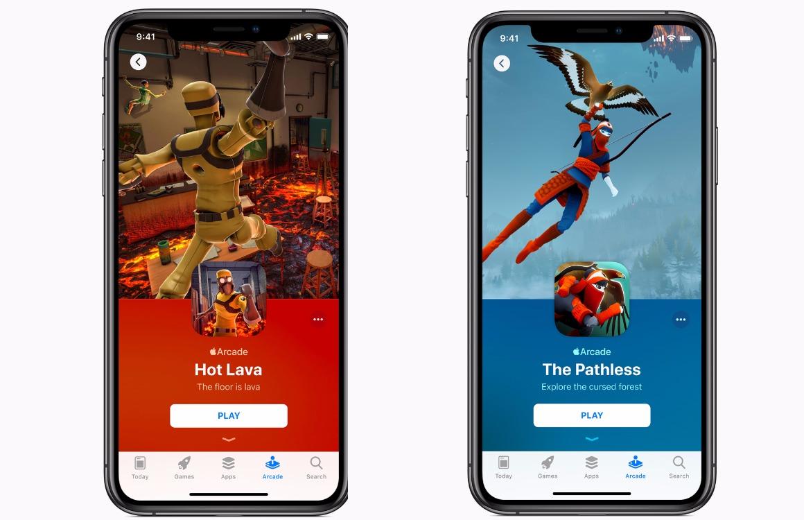 Apple Arcade Screens