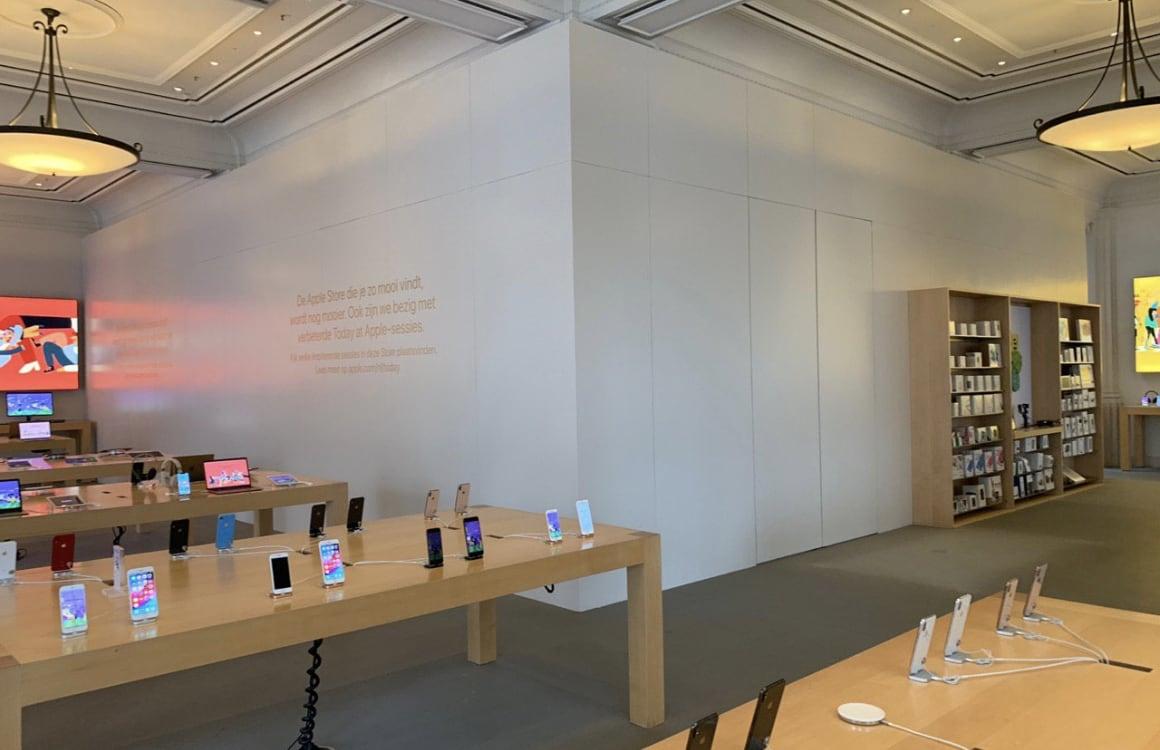 Apple Store Amsterdam verbouwing