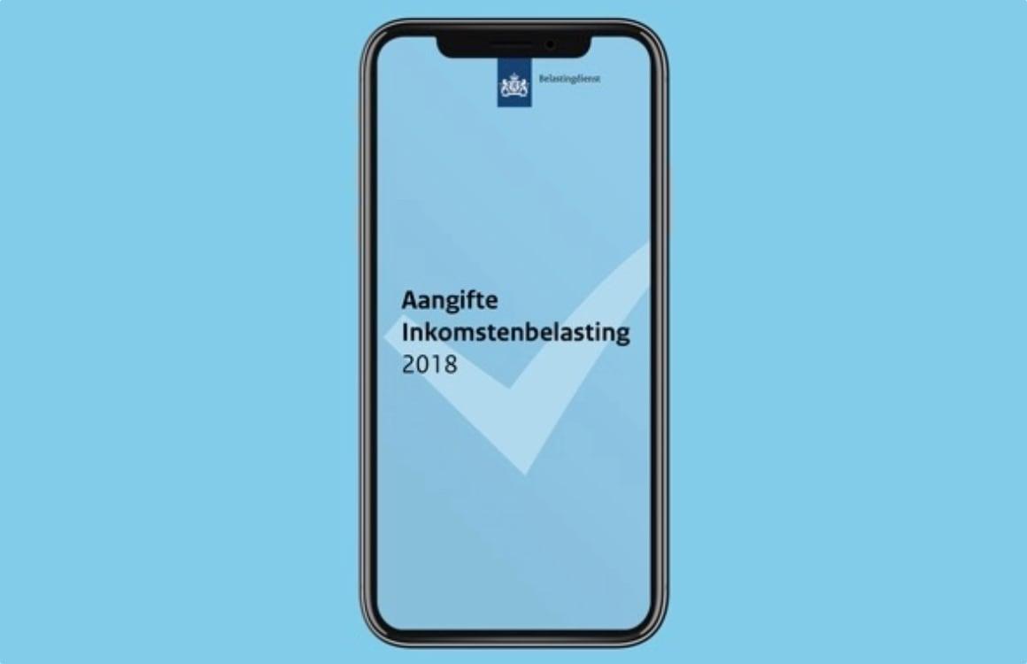 Je belastingaangifte regel je gemakkelijk met de Aangifte 2018-app