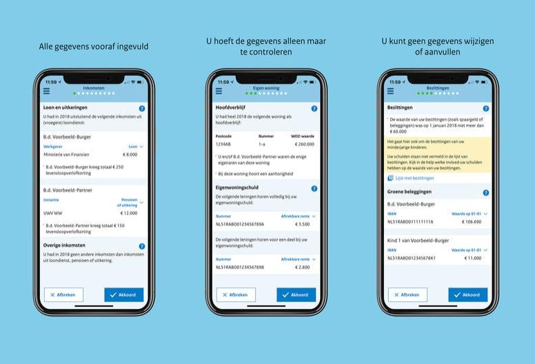 Aangifte 2018 app