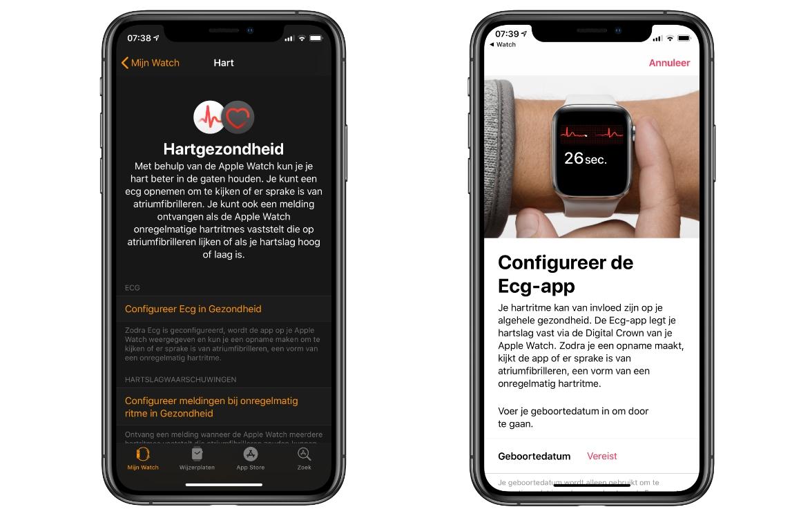 Apple Watch hartfilmpje maken