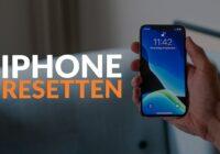Hoe je iPhone resetten werkt: stap voor stap uitgelegd