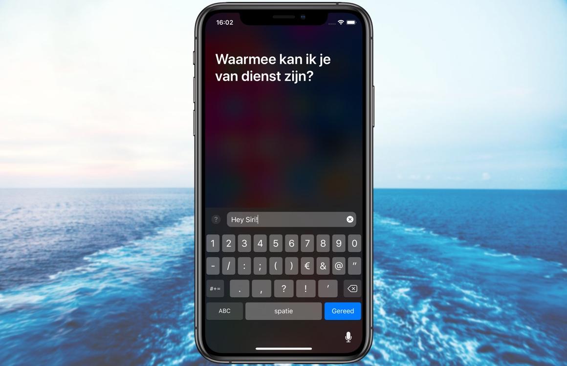 Tip: gebruik Siri ook zonder dat je hoeft te praten