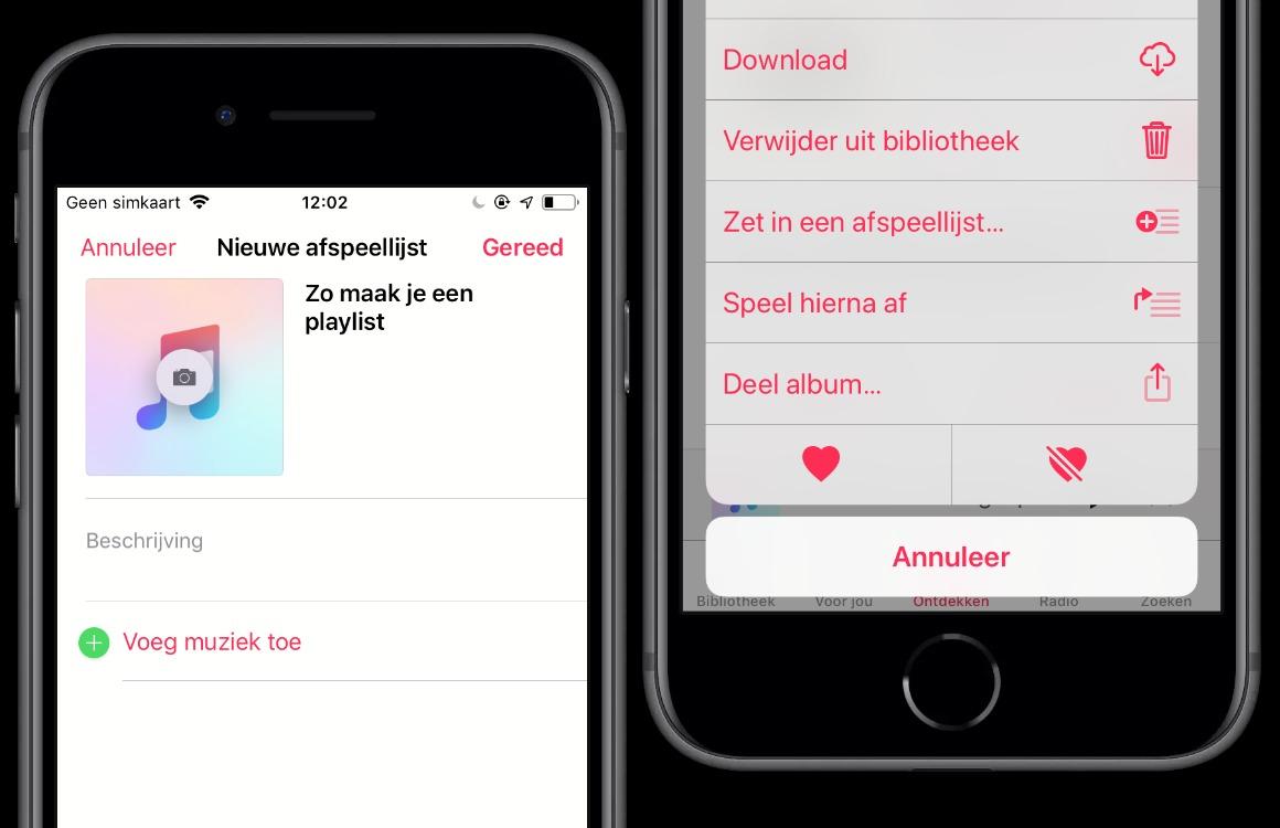 Apple Music-tips Afspeellijsten aanmaken