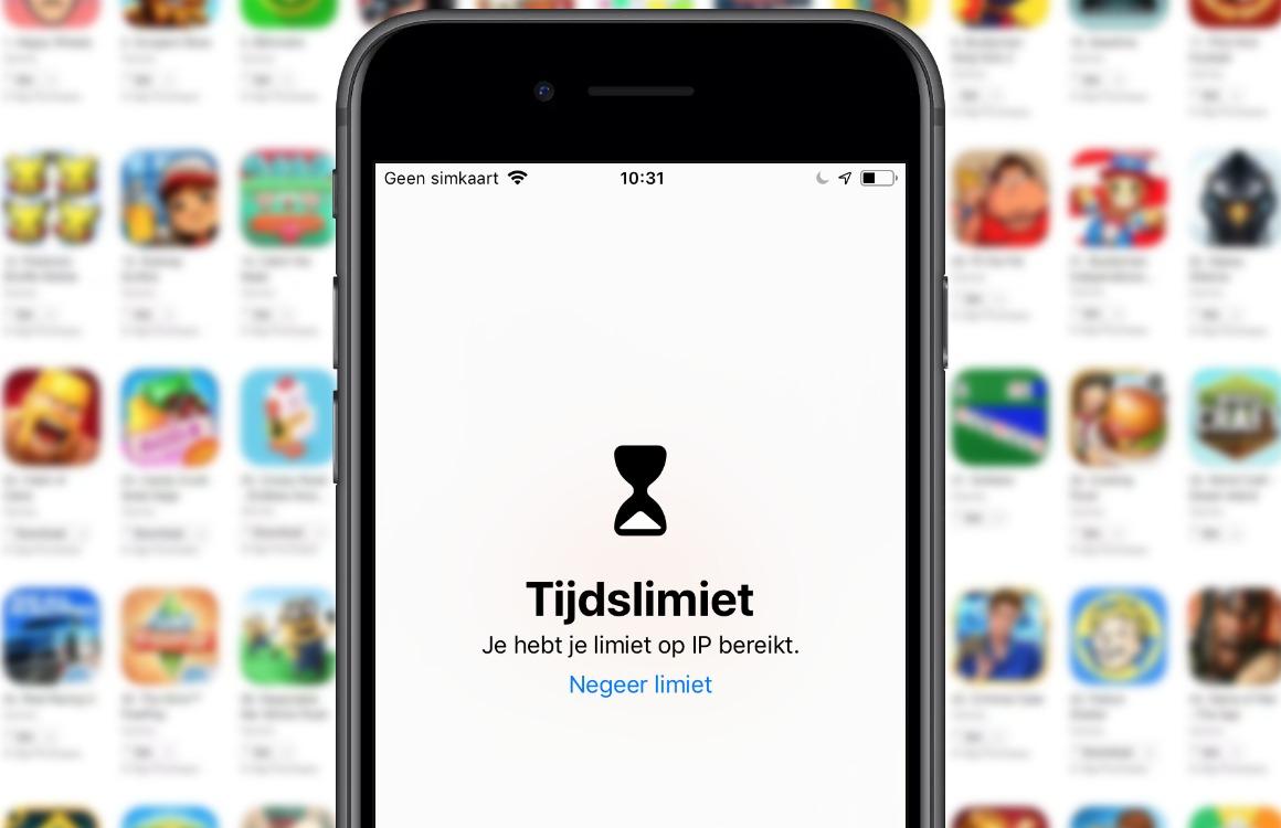 Apple Schermtijd-concurrenten verwijderd App Store