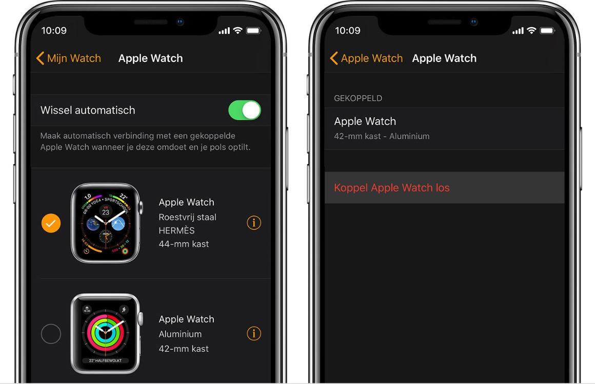 Apple Watch backup maken en terugzetten