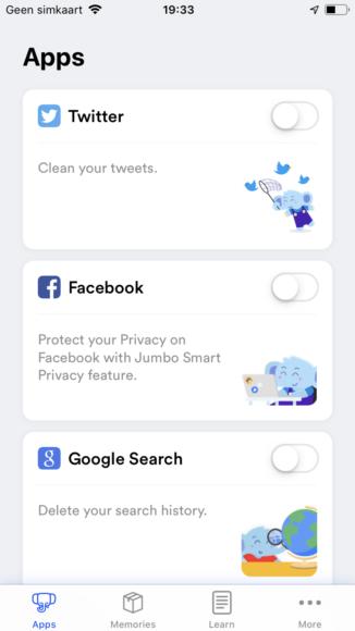 Jumbo privacy screenshots (3)