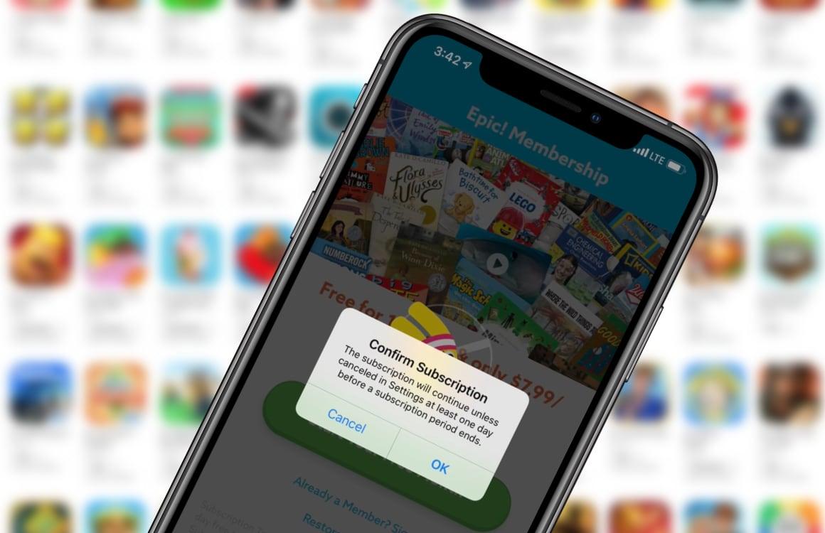 App Store abonnementen meldingen