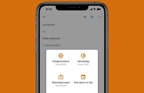 Tip: zo kun je met de Gmail-app mailtjes inplannen