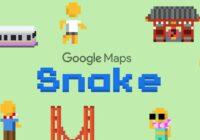 Google Maps voegt Snake-game toe aan kaarten-app voor 1 april