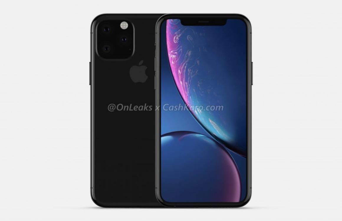 'iPhone 11 heeft ander moederbord voor camera en grotere accu'