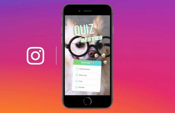 Test de kennis van vrienden met de Instagram Verhalen quiz-functie