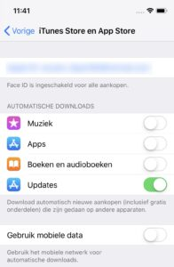 ios-apps automatisch updaten