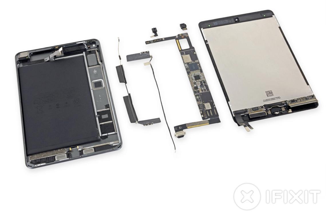 Teardown: zo ziet de nieuwe iPad mini er van binnen uit