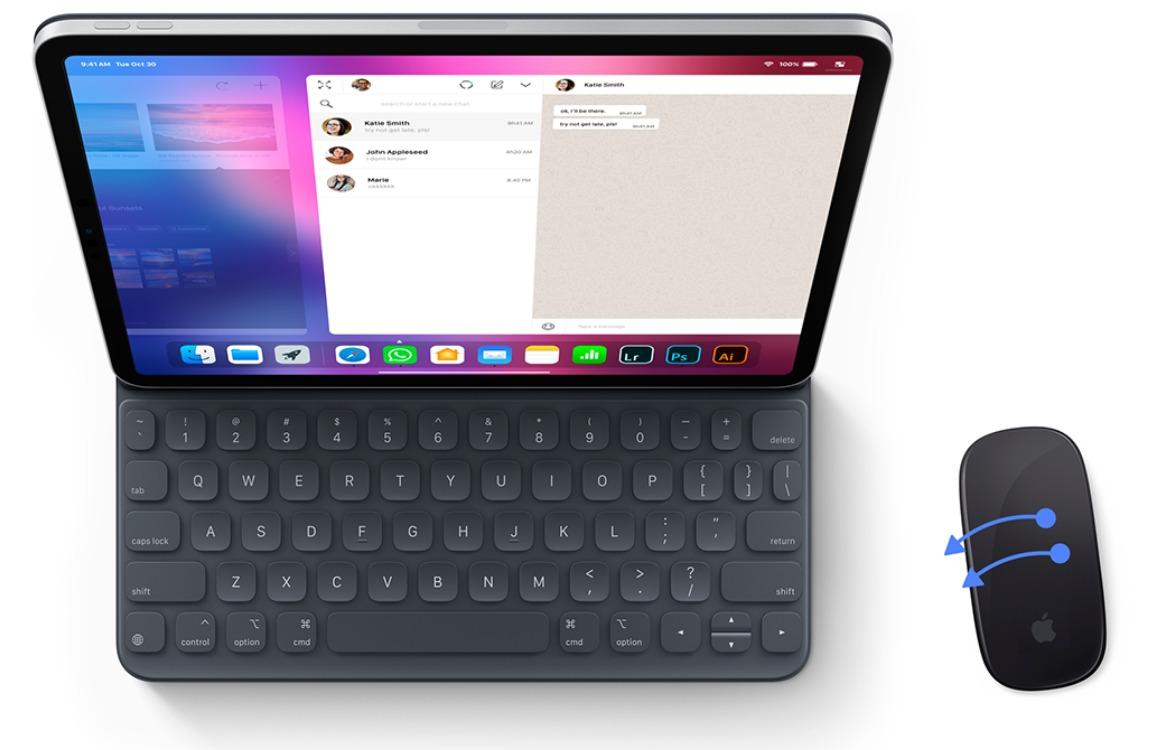 Concept: Zo ga je de iPad met een muis gebruiken