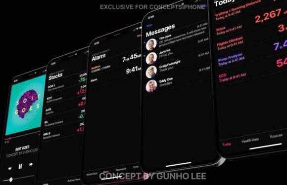 Dit nieuwe concept brengt de iPhone 2019 en iOS 13 tot leven