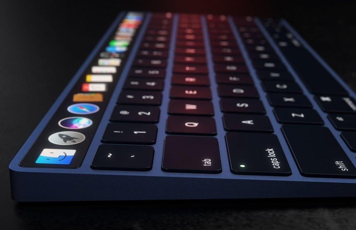 'Apple werkt aan Face ID op de Mac en Touch Bar in Magic Keyboard'