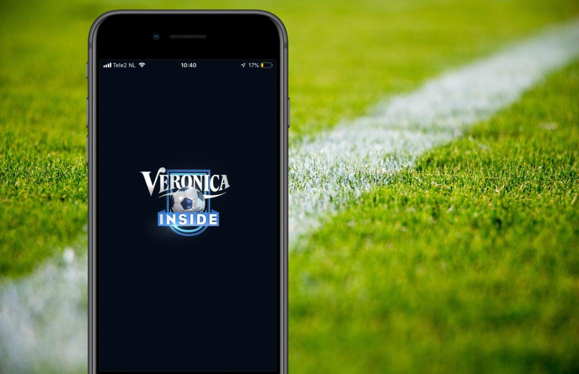 Veronica Inside-app: de voetbalkantine voor op je iPhone