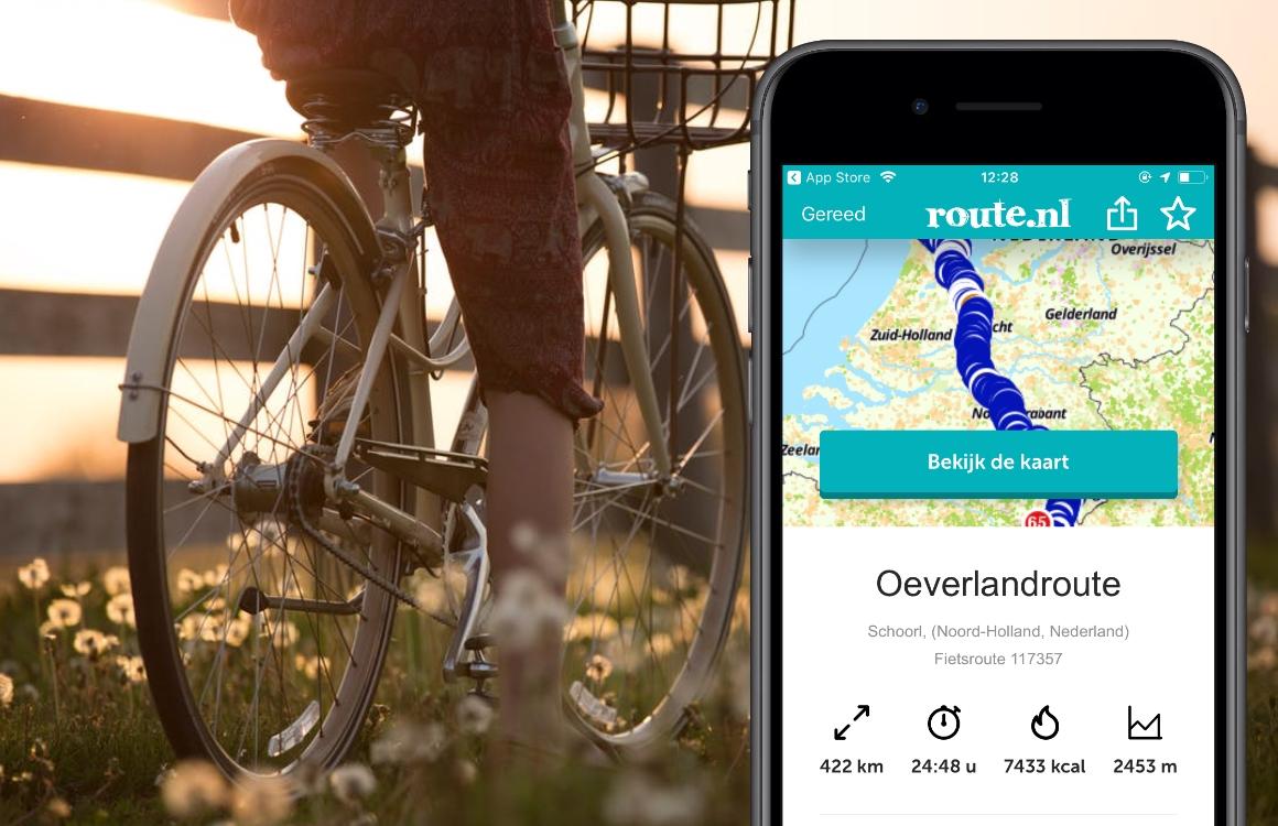 De 5 beste fietsroute-apps voor je iPhone: van dagtocht tot fietsvakantie