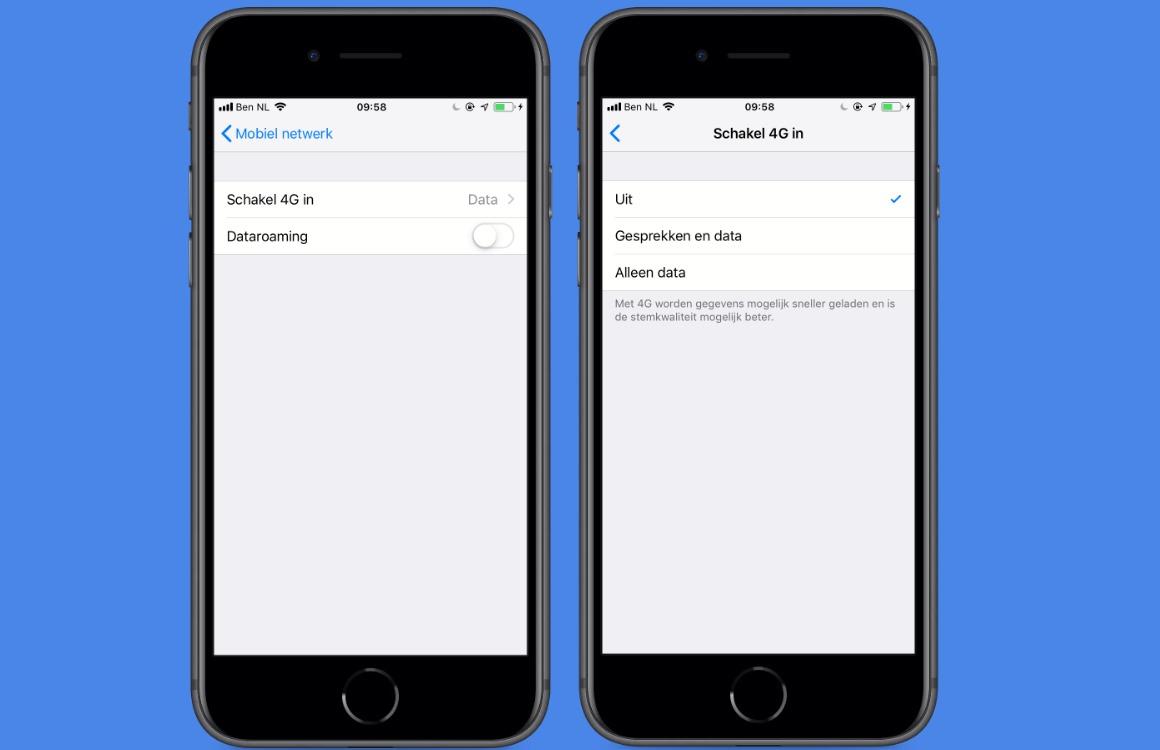 Roaming uitzetten iPhone internet uitzetten (1)