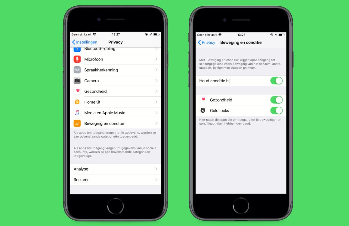 Stappenteller iPhone uitleg (2)