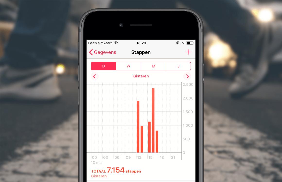 Uitleg: Zo werkt de ingebouwde stappenteller op je iPhone