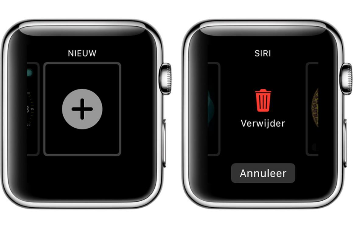 Apple Watch wijzerplaat toevoegen