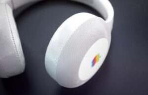 Apple koptelefoon draagpositie