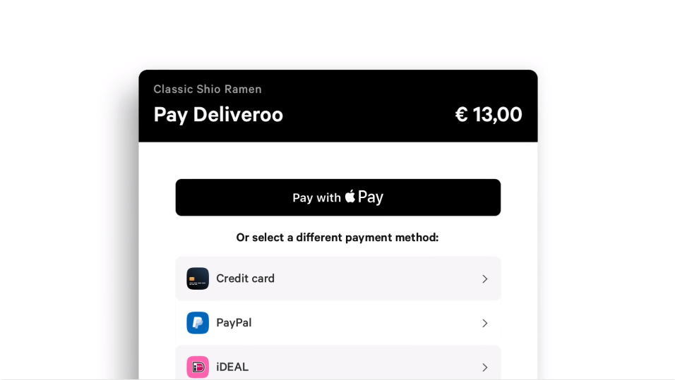 Apple Pay-ondersteuning Mollie