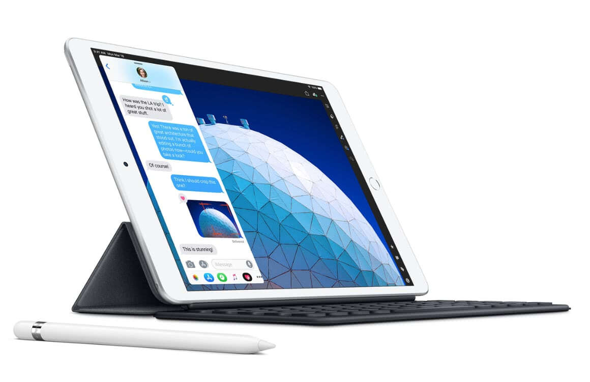 ipad air 2019 voorkant