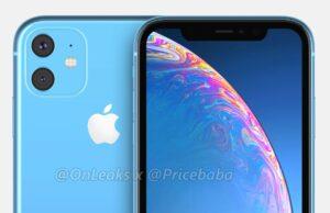 iPhone XR 2019 gelekt