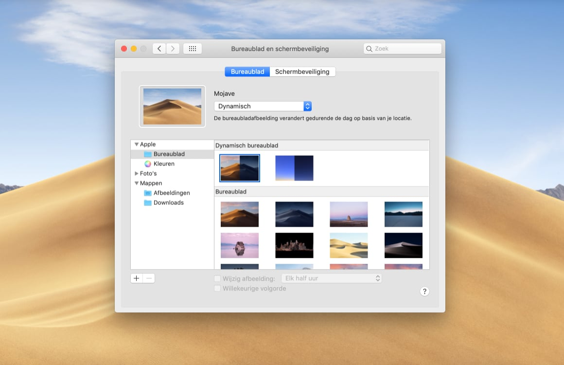 Mac achtergrond