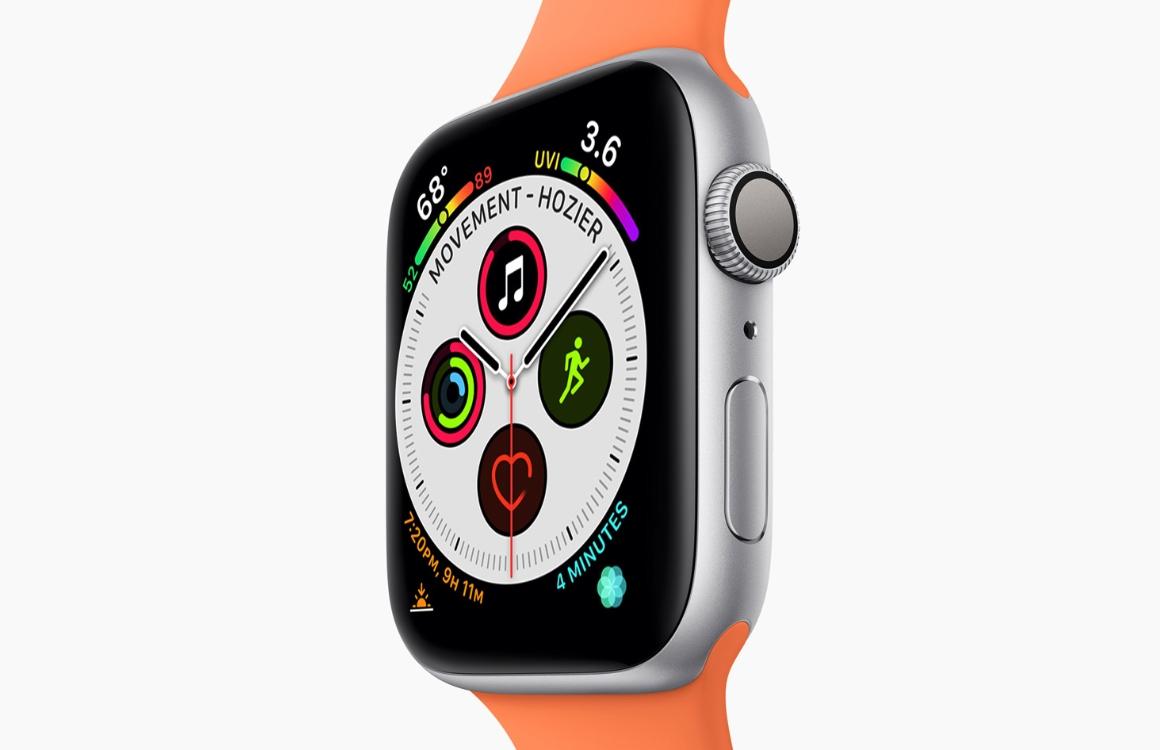 Apple Watch Series 4 wint prijs voor 'Scherm van het jaar'